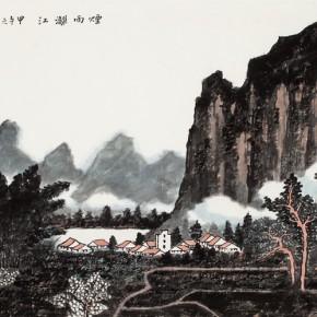 47 Cui Xiaodong Li River in Rain and Fog 2014 290x290 - Cui Xiaodong