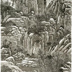 48 Cui Xiaodong Yan Mountain Covered by Snows 290x290 - Cui Xiaodong