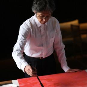 """57 Photo of Lu Fusheng 290x290 - """"Lu Fusheng's Chinese Calligraphy Art Exhibition"""" Debuted and the """"Fusheng Font"""" Announced in Beijing"""