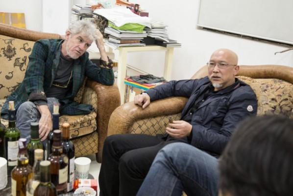 Christopher Doyle and Zhang Enli
