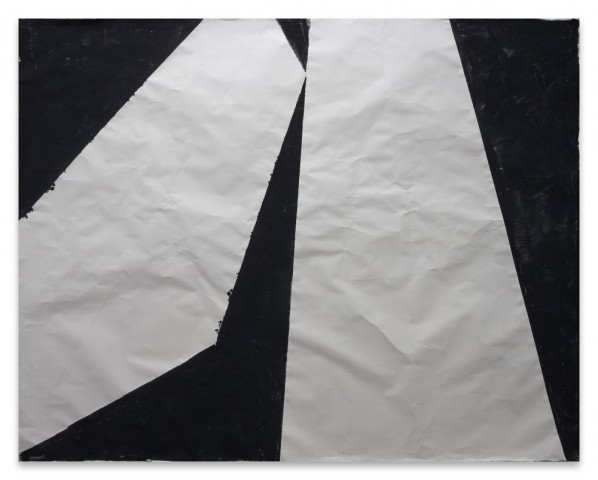 Sadaharu Horio, Untitled, 2015-Traditional japanese paper, Echizen Washi, Workshop Heizaburo Iwano, folded 219cm x 277 cm