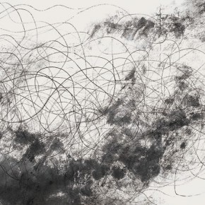 Wang Huangsheng Moving Visions Series No. 28 2011 Ink on paper 140x70cm 290x290 - Wang Huangsheng's First Solo Show in London Unveiled at October Gallery