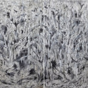 Wu Hwa Melting2012 Acrylic on Canvas 130cmx213cm x2 290x290 - SHENG: Wu Hwa Solo Exhibition Opening May 9 at Today Art Museum