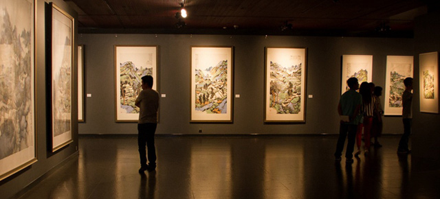South & North – the Exhibition of Landscape Paintings by Lin Rongsheng, Fang Xiang, Qiu Ting Unveiled