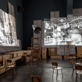 01 Installation View of William Kentridge Notes Towards a Model Opera 290x290 - South African artist William Kentridge's biggest exhibition in Asia opened at UCCA