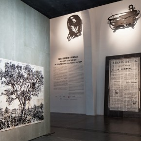02 Installation View of William Kentridge Notes Towards a Model Opera 290x290 - South African artist William Kentridge's biggest exhibition in Asia opened at UCCA