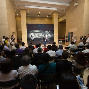 02 The Opening Ceremony 290x290 - Liu Shangying's Art Exhibition Unveiled at the National Art Museum of China