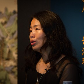 03 Curator Yue Jieqiong 290x290 - South & North – the Exhibition of Landscape Paintings by Lin Rongsheng, Fang Xiang, Qiu Ting Unveiled