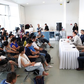 03 Press Conference of Inquiry of the Brick 290x290 - Inquiry of the Brick – The Exhibition of Ying Tianqi Unveiled at Today Art Museum