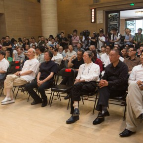03 The Opening Ceremony 290x290 - Liu Shangying's Art Exhibition Unveiled at the National Art Museum of China