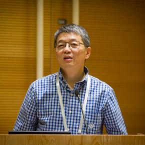 03 Zhou Xian, Dean of the Institute of Fine Arts of Nanjing University