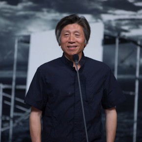 04 Fan Dian President of CAFA addressed the opening ceremony 290x290 - Liu Shangying's Art Exhibition Unveiled at the National Art Museum of China