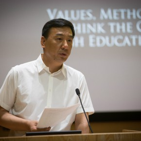 04 Zhang Donggang, Director of Social Science Department in the Ministry of Education