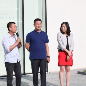 "06 Jiang Wei Director of Ginkgo Art Centeraddressed the opening ceremony 290x290 - From ""I Draw"" to ""Drawing"" – The Art of Tan Ping Opened at Ginkgo Space"