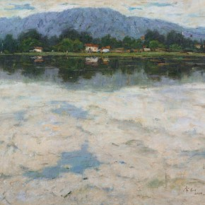 06 Ma Changli The Lake of Clouds oil on linen 65.2 x 80.3 cm 2000 290x290 - Ma Changli