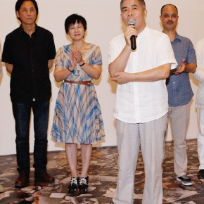 06 Renowned art critic Yang Weimin served as one of the curators for this exhibition 290x290 - Inquiry of the Brick – The Exhibition of Ying Tianqi Unveiled at Today Art Museum