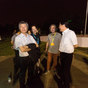 06 The leadership team of CAFA revisited the venue before the ceremony 290x290 - The best graduation season CAFA ever has opened in Beijing