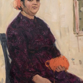 108 Ma Changli A Senior Uighur Woman oil on cardboard 53.5 x 38 cm 1979 290x290 - Ma Changli