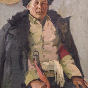 109 Ma Changli The Senior Member of the Red Guards oil on cardboard 73 x 57 cm 1962 290x290 - Ma Changli