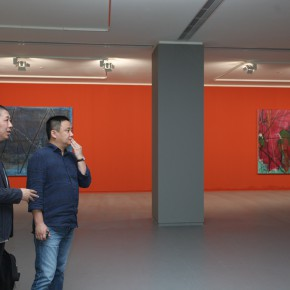 "11 Curator Li Xu and critic Pi Li 290x290 - From ""I Draw"" to ""Drawing"" – The Art of Tan Ping Opened at Ginkgo Space"