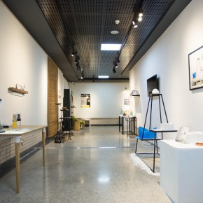12  Installation view ofthe 2015 Graduation Exhibition for the School of Urban Design,CAFA