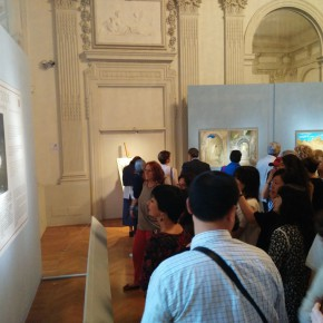 "14 Installation view of the exhibition1 290x290 - Grand Tour Spirit is Going on: ""Chinese artists' perspective of Italy"" opened in Rome"
