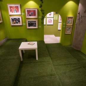 "16 Exhibition view of ""Vision of Children's Drawing"""