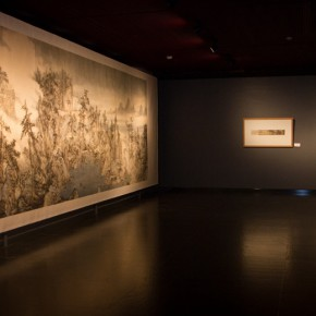 16 Installation view of the exhibition 290x290 - South & North – the Exhibition of Landscape Paintings by Lin Rongsheng, Fang Xiang, Qiu Ting Unveiled