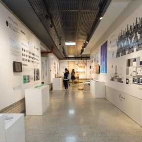 16  Installation view ofthe 2015 Graduation Exhibition for the School of Urban Design,CAFA