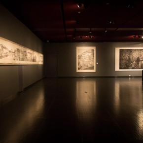17 Installation view of the exhibition 290x290 - South & North – the Exhibition of Landscape Paintings by Lin Rongsheng, Fang Xiang, Qiu Ting Unveiled
