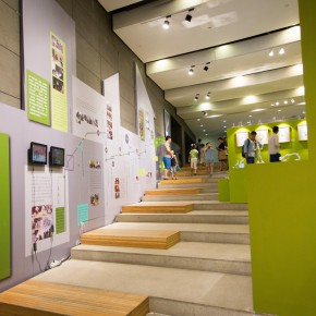 "19 Exhibition view of ""Vision of Children's Drawing"""