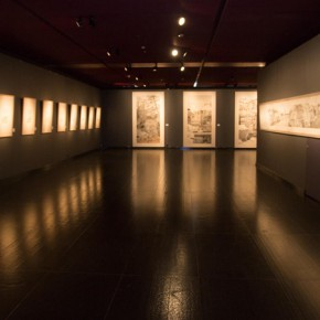 20 Installation view of the exhibition 290x290 - South & North – the Exhibition of Landscape Paintings by Lin Rongsheng, Fang Xiang, Qiu Ting Unveiled