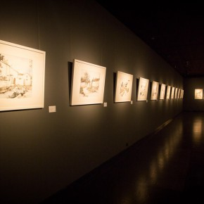 21 Installation view of the exhibition 290x290 - South & North – the Exhibition of Landscape Paintings by Lin Rongsheng, Fang Xiang, Qiu Ting Unveiled