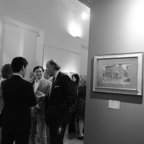 "21 Installation view of the exhibition2 290x290 - Grand Tour Spirit is Going on: ""Chinese artists' perspective of Italy"" opened in Rome"