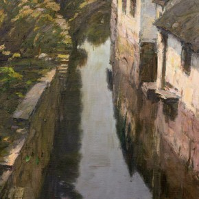 27 Ma Changli Water Lane oil on linen 73 x 56 cm 2003 290x290 - Ma Changli