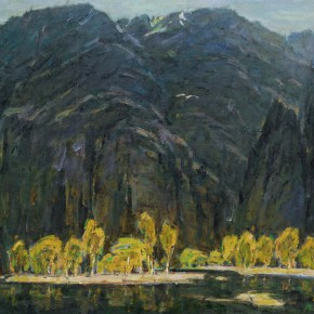 35 Ma Changli Feelings of Mountains and Waters oil on linen 65.2 x 80.3 cm 1995  290x290 - Ma Changli