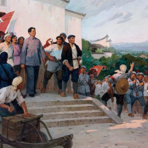 40 Ma Changyi The Autumn Harvest Uprising oil on linen 200 x 350 cm 1975 290x290 - Ma Changli