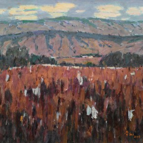 41 Ma Changli The Mountains in Autumn oil on linen 50 x 60 cm 2008 290x290 - Ma Changli