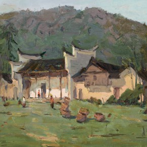 52 Ma Changli The Green Home oil on cardboard 29.5 x 40 cm 1974 290x290 - Ma Changli