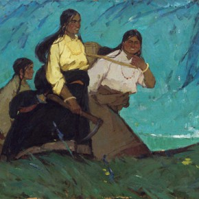 66 Ma Changli Plateau Youth oil on linen 100 x 270 cm 1963  290x290 - Ma Changli