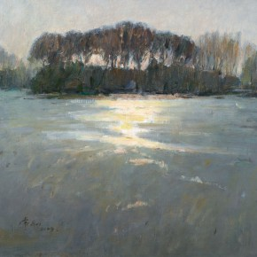69 Ma Changli The Winter Sun oil on linen 60 x 70 cm 2009 290x290 - Ma Changli