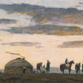 82 Ma Changli Morning Melody of Prairies oil on linen 60 x 120 cm 2013 290x290 - Ma Changli