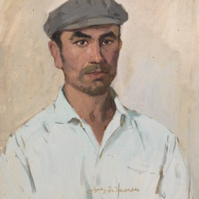 93 Ma Changli A Uighur Man oil on cardboard 47 x 41.5 cm 1979 290x290 - Ma Changli