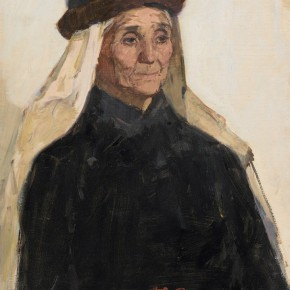 96 Ma Changli A Senior Uighur Woman oil on cardboard 65 x 39.5 cm 1979 290x290 - Ma Changli