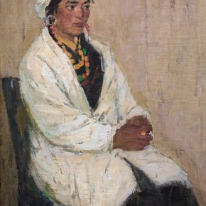 99 Ma Changli A Tibetan Health Worker oil on linen 76 x 57 cm 1963 290x290 - Ma Changli
