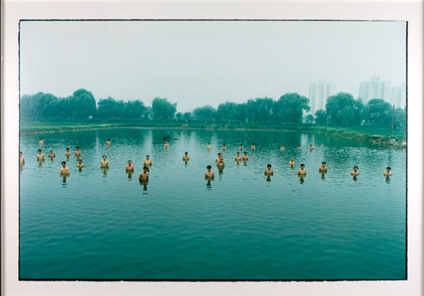 Zhang Huan, To Raise The Water Level in Fishpond(Distant), 1997; C-print on fuji archival paper, edition 2 of 15, Courtesy of Rubell Family Collection, Miami ©Zhang Huan