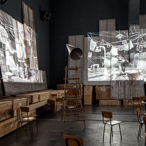 South African artist William Kentridge's biggest exhibition in Asia opened at UCCA
