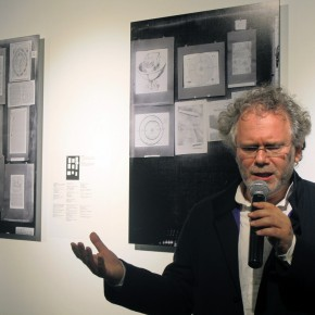 "05 Curator Georges Didi Huberman made a speech 290x290 - An Exhibition About Images of ""Memory"" – Beijing OCAT Institute Officially Opened"