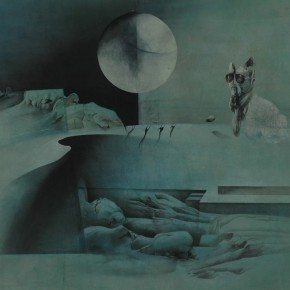 05 Shen Qin The Moon in the Qin Dynasty1 290x290 - Shen Qin's Solo Exhibition Showcasing His Recent Works in Suzhou Museum