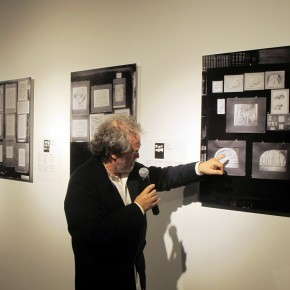 "06 Curator Georges Didi Huberman made a speech 290x290 - An Exhibition About Images of ""Memory"" – Beijing OCAT Institute Officially Opened"